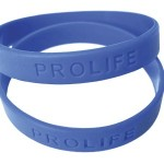 Rubber Bracelet - Prolife