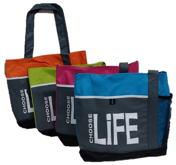 Tote Bag - Choose Life