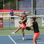 Participants Enjoy Pickleball Tournament