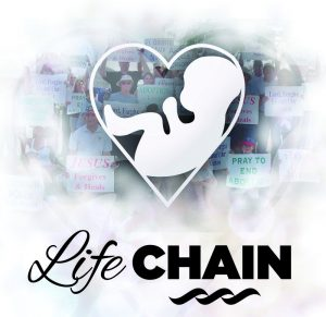 Life Chain @ Public Sidewalk on 44th Street | Grand Rapids | Michigan | United States