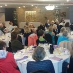 Breakfast Crowd Enjoys Hekman's Stories