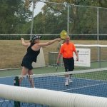 Athletes Take to the Courts