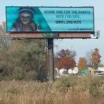 Billboard Encourages Prolife Vote