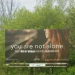 Billboard Promotes Post-Abortion Healing