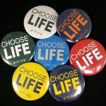 Choose Life Pin - Team Colors